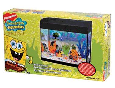 Aquarium Dekorations Set Spongebob