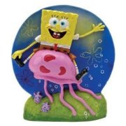 Aquarium Dekoration Figur SPONGEBOB UND QUALLE