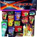 391 Teile Pyro X-Box Ganzjahres-Jungendfreies-Feuerwerk Megabox