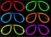Knicklicht Set Leuchtbrille farblich sortiert