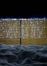 HELLUM 565058 LED-Lichtnetz 200-tlg. Lichtvorhang 1x2 M