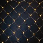 HELLUM 565317 LED-Lichtnetz 192-tlg. Lichtvorhang 2x1 M