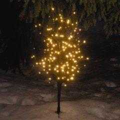 Hellum 568257 LED Deko-Baum warm-weiss 100cm Aussendekoration