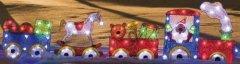 Hellum 575477 LED EVA Weihnachtszug 147x44cm Innen- Aussendekoration