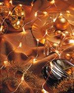 HELLUM 583205 Micro-Lichtnetz 160-tlg. Lichtvorhang 1x2