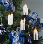 Triaden Lichterkette 48 Kerzen weiss Hellum 678406