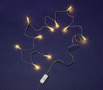 831160 10er Mini-Lichterkette transp./klar mit Schalter