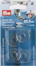 Prym 610362 Nähmaschinenspulen Kunststoff für Horizontalgreifer