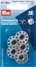 Prym 611350 Nähmaschinen Zentral-Spulen CB, Stahl, 5 Stück