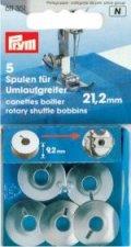 Prym 611351 Nähmaschinen-Spulen Stahl für Umlaufgreifer 21,2mm