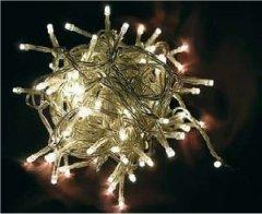 Idena 30er LED-Lichterkette batteriebetrieben und Schalter warm-weiss