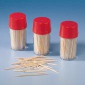 190 Holz Zahnstocher in praktischer Dose L:67mm