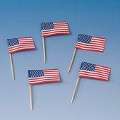 200 Flaggen-Picker USA Piecker