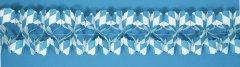 Papier Girlande bayrische Raute L: 400cm 13x13cm Oktoberfest Deko