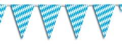 Wimpelkette Wimpelgirlande Plastik Girlande bayrische Raute 30x20cm
