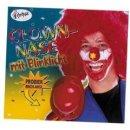 Clownnase aus Schaumstoff blinkend mit Licht Clown Nase