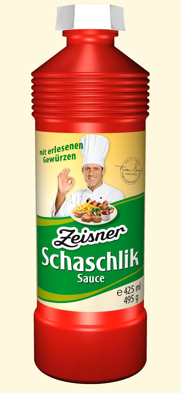 Zeisner Schaschlik Sauce 425ml Flasche