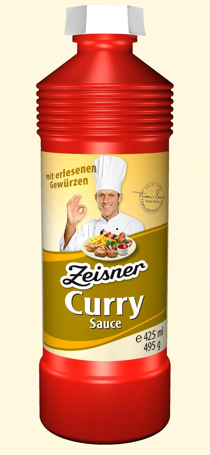Zeisner Curry-Sauce 425ml Flasche