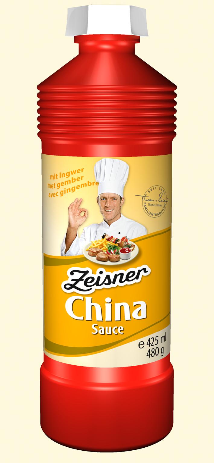 Zeisner China Sauce 425ml Flasche