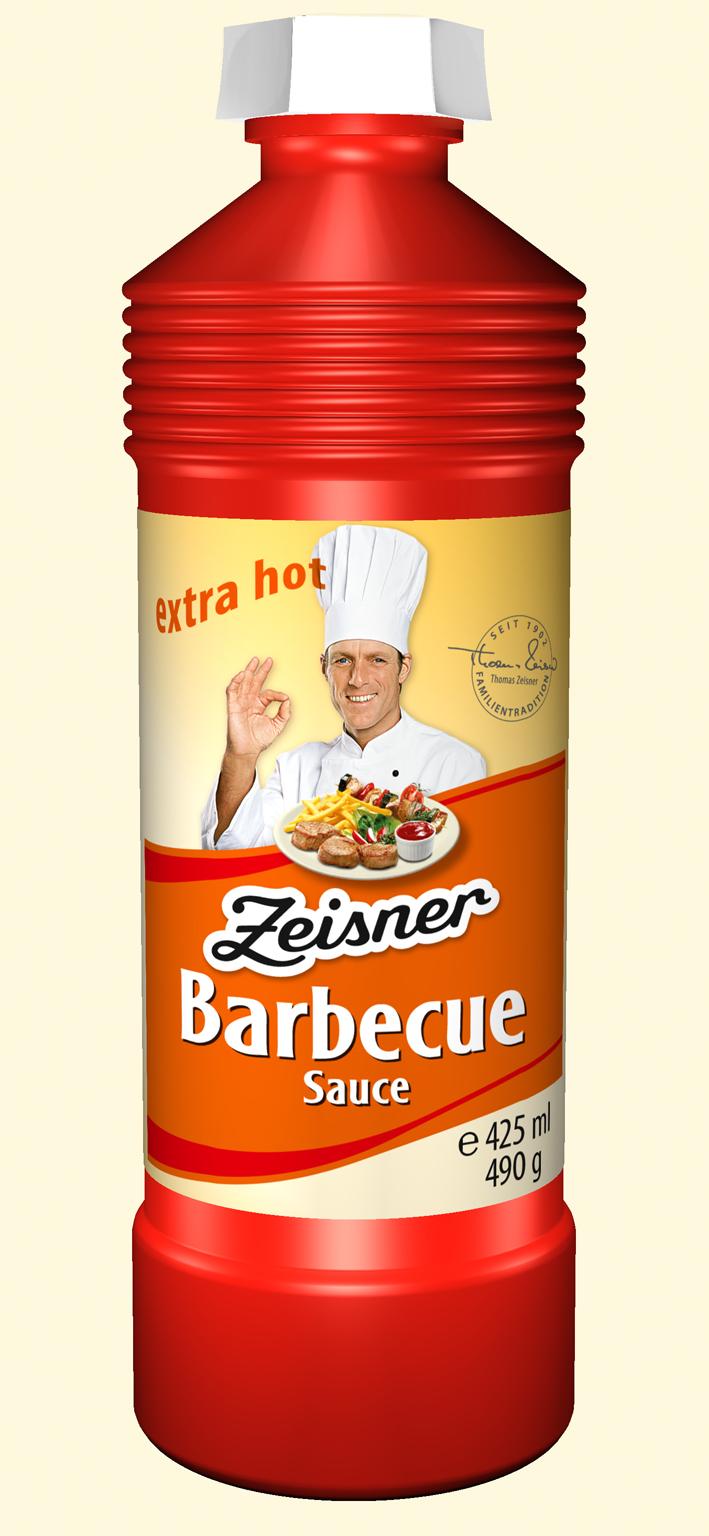 Zeisner Barbecue Sauce 425ml Flasche