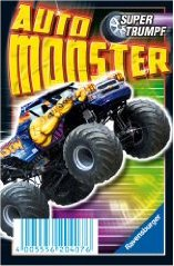 Auto-Monster Supertrumpf Quartett RAVENSBURGER 20407