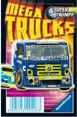 Mega Trucks Supertrumpf Quartett RAVENSBURGER 20408
