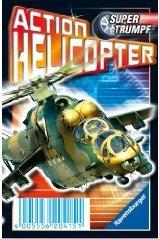 Action Helicopter Supertrumpf Quartett RAVENSBG. 20415