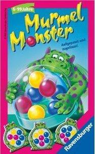 Ravensburger 23130 - Murmel Monster - Mitbringspiel Murmelmonster