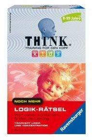 Ravensburger 23308 Think® Kids: Noch mehr Logik-Rätsel