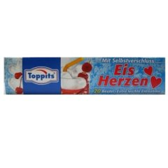 160 Melitta Toppits Ice Hearts Herzeiswürfel Eiskugel-Beutel