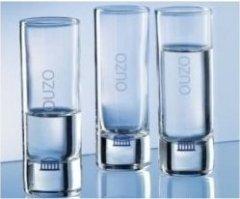 Rastal Ouzo-Gläser - 3 Stück