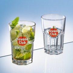 2 Original Havana Club Exclusivgläser mit Farblogo