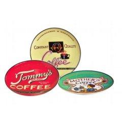 3 Teller coffeebrands 19cm Tommy´s Porzellan