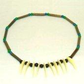 Indianerkette Kette für Indianer Bambus-Halskette