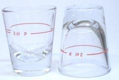 24 Stück Stamper Shotglas Schnapsglas 2cl Rotring Optimal