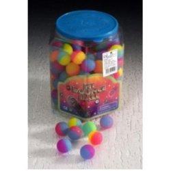144 Stück Springballe Ø27mm Flummi Hüpfball Hoppball Frost Neon