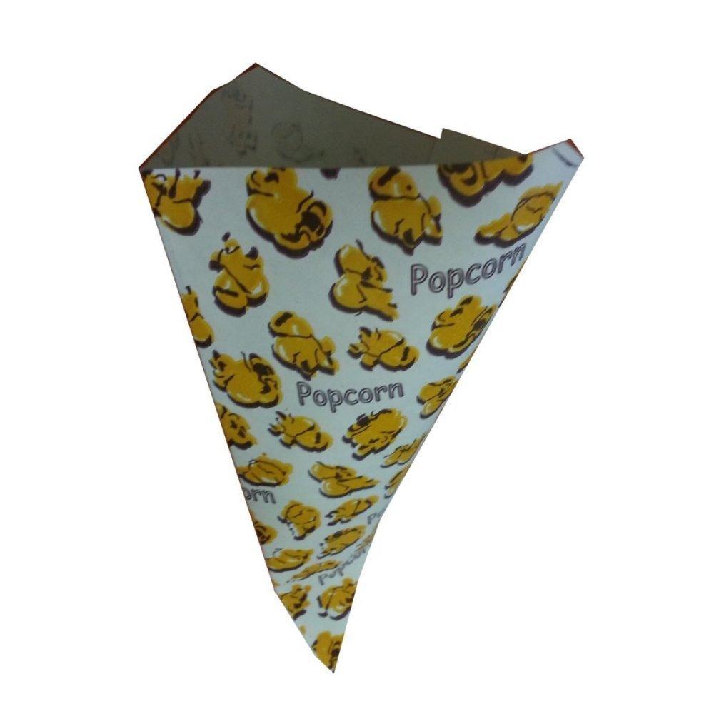 1000 Spitztüten Spitzbeutel 250gr Popcorn Popkorn
