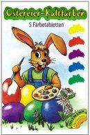 OSTEREIER-Kaltfarben 5 Tabletten Brauns-Heitmann