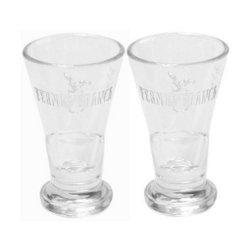 6 original Fernet Branca Gläser Shotgläser 2cl Glas Shotglas