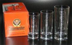 6 Jägermeister Gläser Likör Longdrink ON ICE 0.1l