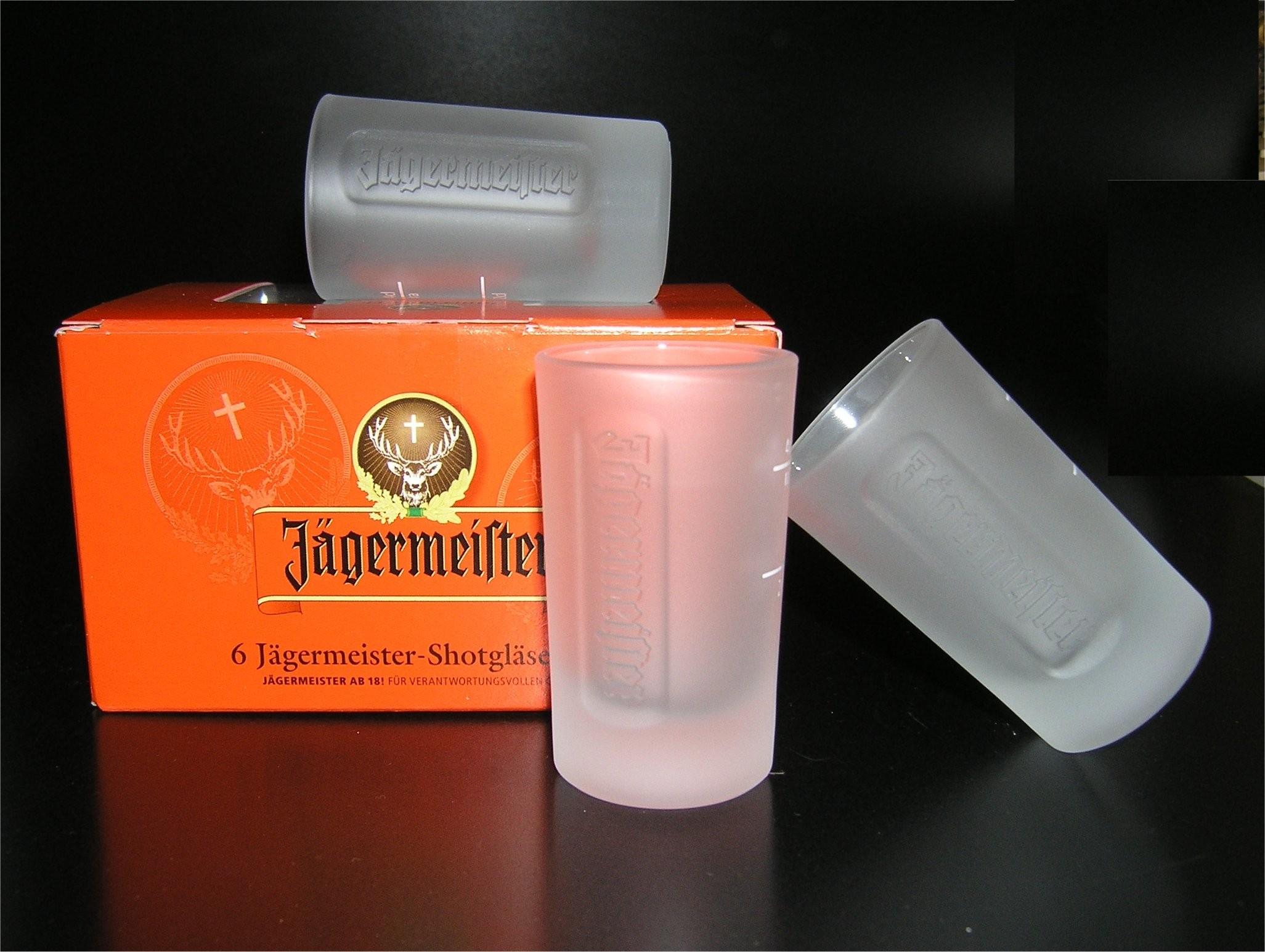 Jägermeister gläser
