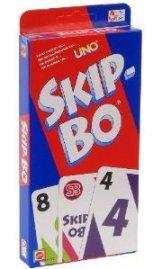 Mattel 52370-0 - Skip-Bo - Skipbo - Skip Bo Kartenspiel