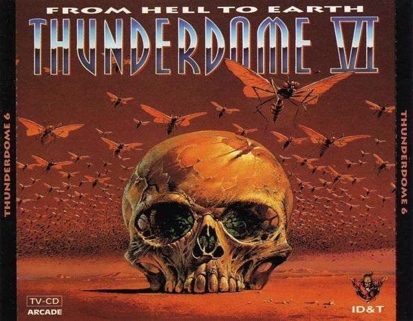 Thunderdome VI vol. 6 - From Hell To Earth CD Box Neu