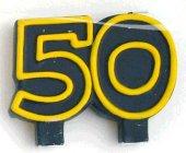 Geburtstag Jubiläums Kerze 50 Zahlenkerze