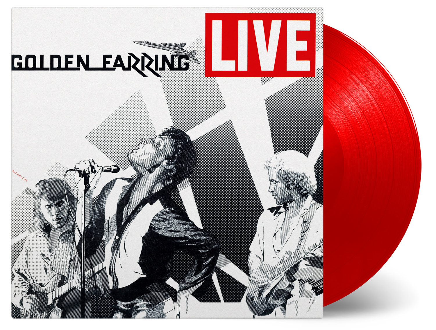 Golden Earring Live 2-LP double doppel coloured Vinyl
