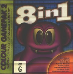 8 Spiele in 1 COLOUR GAMEPACK 2 GameboyColor Spiel