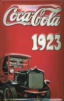 Coca Cola Truck Blechschild 20x30cm