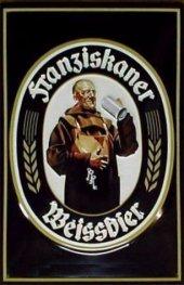 Franziskaner Weissbier Blechschild 20x30cm