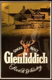 Glenfiddich Single Malt Scotch Blechschild 20x30cm