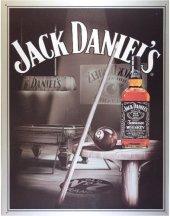 JACK DANIEL'S BILLARD Blechschild 20x30cm